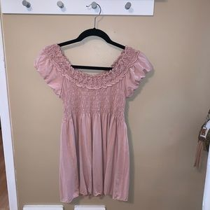 Max Studio baby doll blouse in blush